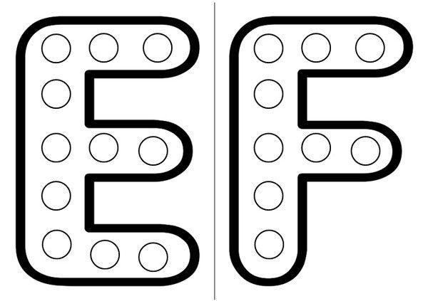 Lettre Alphabet à Imprimer Format A4